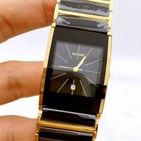 Часы RADO INTEGRAL CERAMICA Hi-TECH QUARTZ  Black/Gold. Replica: ААА., фото 1