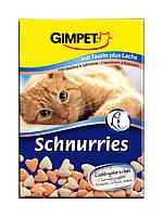Вітаміни-сердечка Gimpet Schnurries для кішок, з лососем, 650шт., G-409535/409382