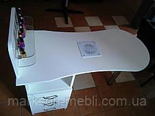"""Манікюрний стіл """"Естет 1"""" з вбудованою вытяжкою """"Dekart 4"""". Безкоштовна доставка"""