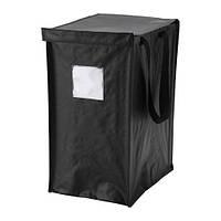 """IKEA """"ДИМПА"""" Мешок д/сортировки мусора, серо-черный, 35 л"""