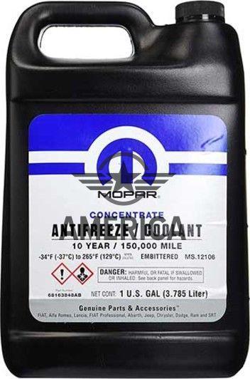 Mopar Antifreeze Coolant Фиолетовый (10 Year) -74 C 1galon (3,785L) CHRYSLER 68163848AB