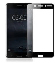 Защитное стекло 5D для Nokia 6 (TA-1021)