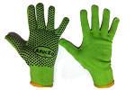 Купити рукавички Алиско, рукавички з ПВХ крапкою, рукавички садові стрейч, рукавички одноразові в Україні з безкоштовною доставкою по Харкову або відправкою в будь-яке місто України