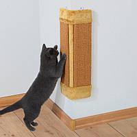 Настенная угловая когтеточка-драпак для кошек Trixie 43191