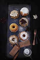 Кексики к праздникам с белым шоколадом и кардамоном