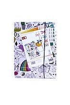 Папка А4 (3 шт.) United Office   разноцветный K03-770204