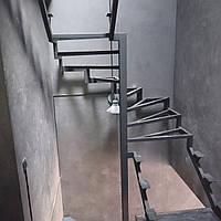 Металлические каркасы лестниц под обшивку деревом