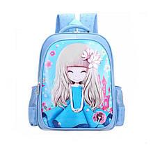 Рюкзак школьный Animex Голубой (0012)