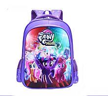 Рюкзак школьный My Little Pony Disney Сиреневый (0015)