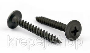 Саморез   4,2х19 по металлу с пресс-шайбой острый черный  (1000  штук/упаковка)