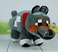 М'яка іграшка майнкрафт собака, 29 див., фото 1