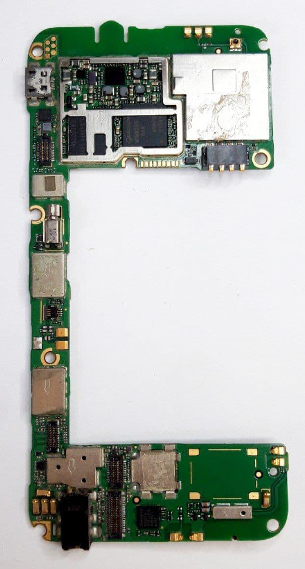 Основная плата ( нерабочая ) Huawei G510 б.у