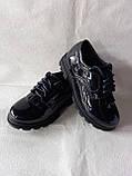 Сині черевички на шнурочках для дівчинки. Школа., фото 5