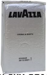 Кава мелена Lavazza Crema e Gusto 250 г(оригінал)