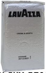 Кофе молотый Lavazza Crema e Gusto 250 г(оригинал)