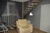 Лестница металлическая на второй этаж под ключ (любая сложность работ)