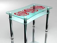 Столы для кухни стеклянные