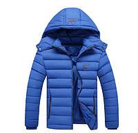 Куртка мужская Adidas голубая