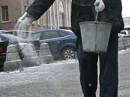 Противогололедные материалы,средства для уборки льда.