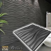 """Пластикова форма для 3D панелей """"Хвиля"""""""