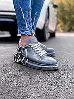 Кроссовки мужские серые с черными вставками. Мужские кроссовки яркие серого цвета.