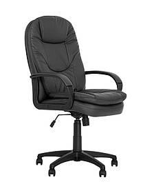 Кресло офисное Bonn KD black механизм Tilt крестовина PL64, экокожа Eco-30 (Новый Стиль ТМ)