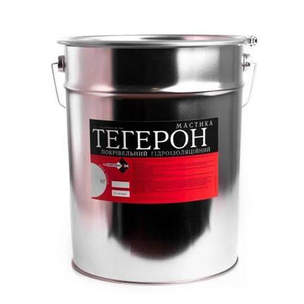 Мастика гидроизоляционная Тегерон кровельный 6 кг, фото 2