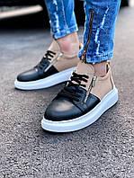 Кроссовки мужские стильные черный цвет. Мужские стильные кроссовки черного цвета.