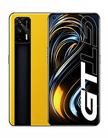 "Смартфон Realme GT 5G 8/128Gb Yellow EU, 64+8+2/16Мп, 2sim, 6.4""S. AMOLED, 4500mAh, 5G, 8 ядер"