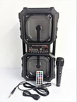Портативная акустическая колонка c микрофоном KIMISO QS-212 Bluetooth Пульт ДУ