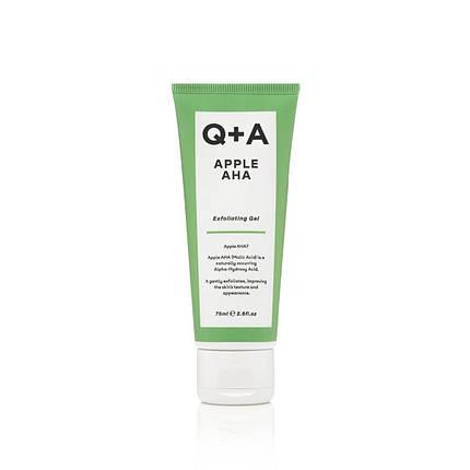 Отшелушивающий гель на основе яблочной, молочной и гликолевой кислот Q+A  Apple AHA Exfoliating Gel, 75 мл, фото 2