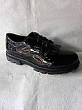 Шкільні туфлі для дівчинки. Туфлі під форму., фото 8
