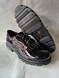 Шкільні туфлі для дівчинки. Туфлі під форму., фото 7