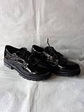 Шкільні туфлі для дівчинки. Туфлі під форму., фото 5