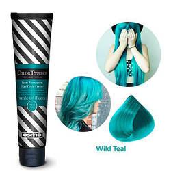 Osmo Color Psycho. Прямий пігмент для яскравого фарбування волосся, 150 мл Wild Teal, дикий бірюзовий