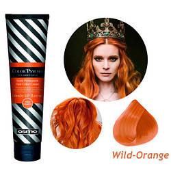 Osmo Color Psycho. Прямий пігмент для яскравого фарбування волосся, 150 мл Wild Orange, помаранчевий дикий