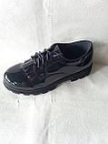 Синие туфельки для девочки в школу.Новинка., фото 7