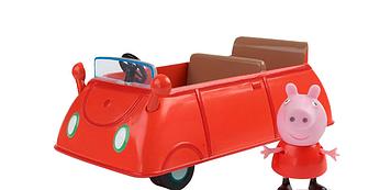 """Ігровий набір """"Peppa.Машина Пеппі"""" машина,фігурка №19068/КіддіСвіт/"""