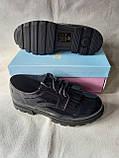 Синие туфельки для девочки в школу.Новинка., фото 3