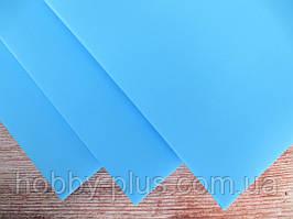 Фоамиран ТЕМНО-БЛАКИТНИЙ, 60x70 см, 0,8-1,2 мм., Іран