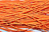 Резинка круглая, шляпная 2.5мм, (50м) оранж