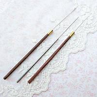 Набор Индийских Крючков для Вышивания 0.5 мм 3 шт