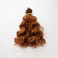 Волосы для Кукол Трессы Озорные Кудри ШАНГРИЛА 15 см