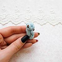 Мягкая Игрушка Медвежонок Мини 3.5 см ГОЛУБОЙ