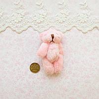 Мягкая Игрушка Медвежонок 6.5 см РОЗОВЫЙ