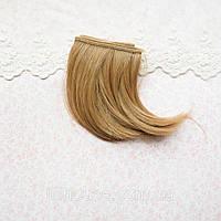 Волосы для Кукол Трессы Боб РУСЫЕ 10 см