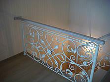 Перила кованые эксклюзив, фото 3
