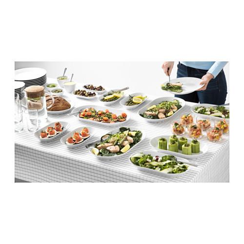 Ikea икеа 365 блюдо белый 31x17 см