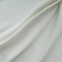 Портьерная ткань чин-чила софт (велюровая), цвет молочный