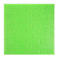 3D панель під зелену цеглу 700х770х7мм